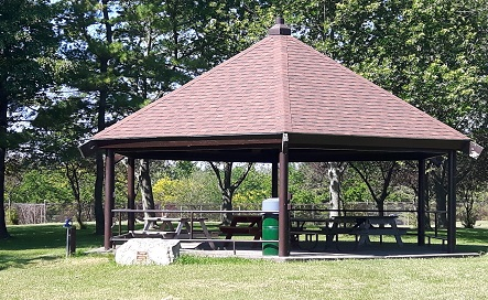 Pavilion at Esli Dodge Conservation Area
